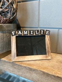 Fotolijstje Familie