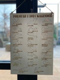 Formule 1 2021 kalender