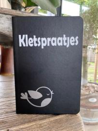 Notitieboekje Kletspraatjes met vogel