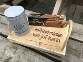Koffieplenkske van juf ...........