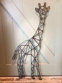Muurdecoratie giraf staand