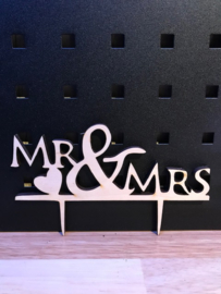 Taarttopper Mr en Mrs 4