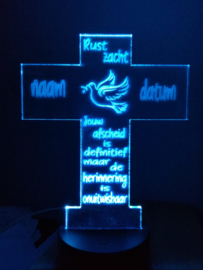 Led verlichting kruisje