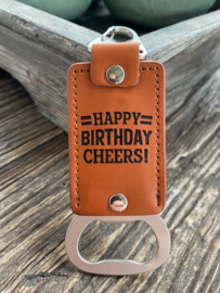 Flesopener Happy birthday...