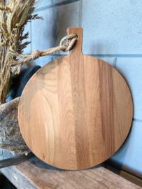 Puur Hout | Beuken Serveerplank rond Ø 35 x 1,5 cm