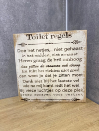 Toiletregels