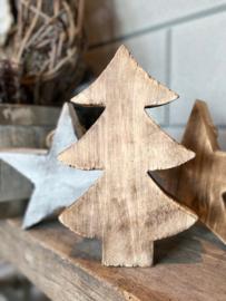 Houten kerstboompje maat L