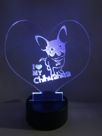 Led verlichting Chihuahua