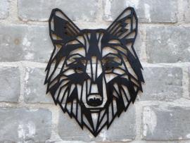 Muurdecoratie wolf
