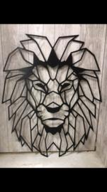 Muurdecoratie leeuw 2