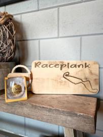 Cadeau pakket Race plank  circuit Assen + glas you're my best friend