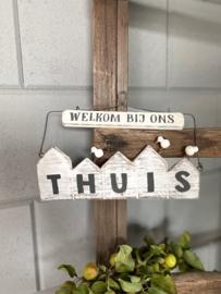 huisjes hangend welkom
