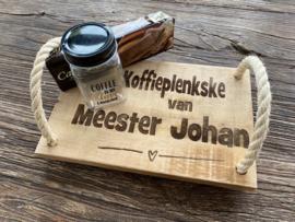 Koffieplenkske van Meester...........