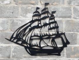 Muurdecoratie Schip