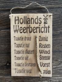 Hollands Weerbericht