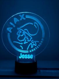 Led-verlichting Ajax met naam