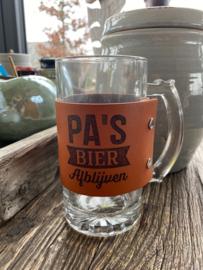 Bierpul Pa´s bier afblijven