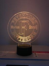 Led Feyenoord met naam