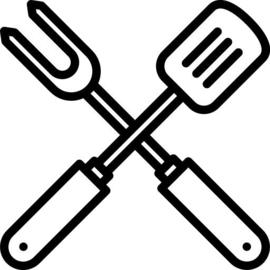 Leren Barbecueschort met eigen tekst en/of afbeelding