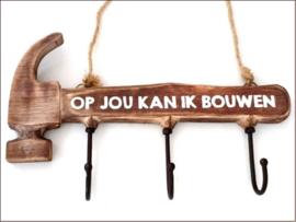 Hamer met haakjes / Bouwen