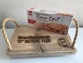 Plankje Time Out/bedankt voor de mooie tijd