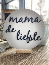 Muurcirkel  Mama de liefste
