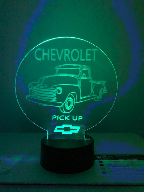 Led-bordje Chevrolet pick up