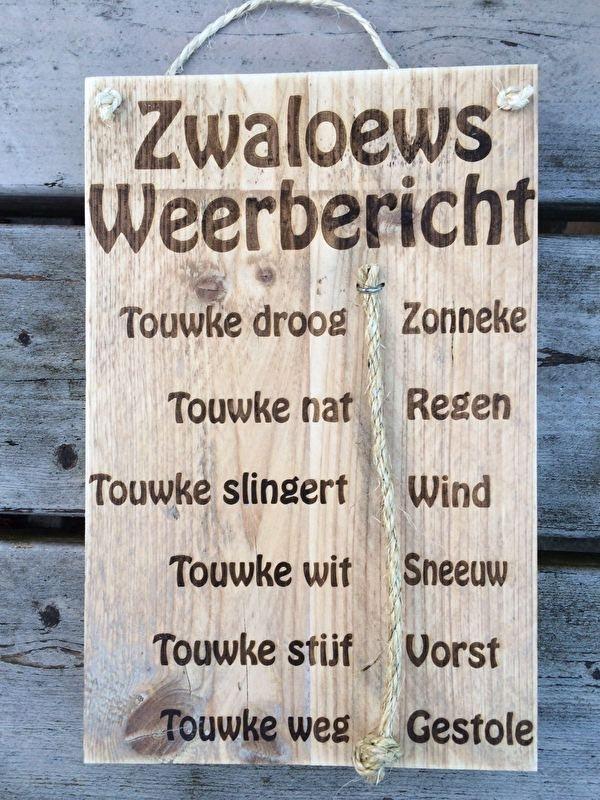 Zwaloews Weerbericht