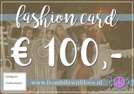 Fashion card 100 euro