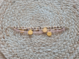 Touch of gold armband