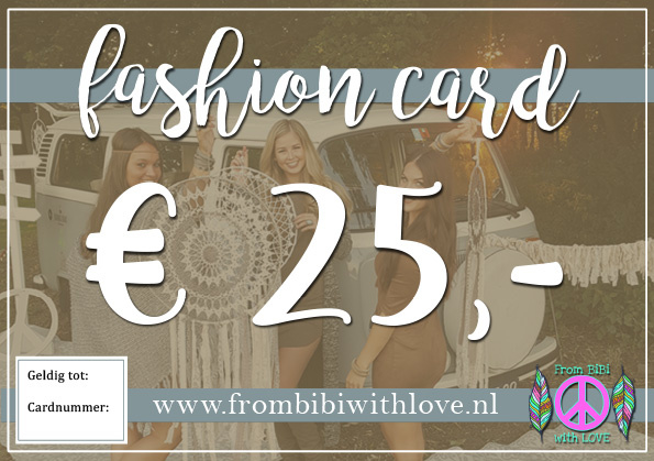 Fashion card 25 euro
