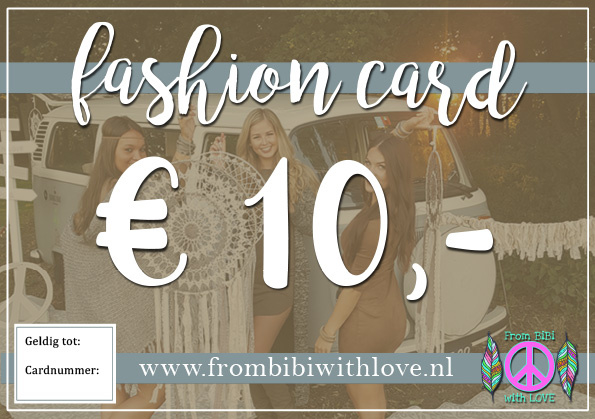 Fashion card 10 euro