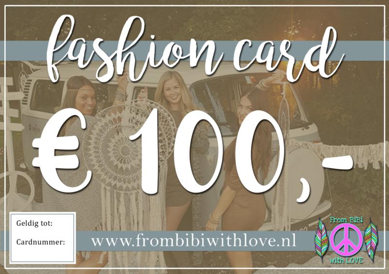 Fashion card 100 euro