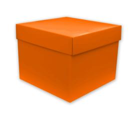 Cadeaudoos Oranje 25cm