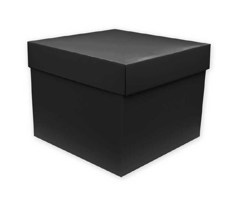 Cadeaudoos Zwart 25cm