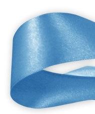 Lint Satijn Blauw 50mm per 3 meter