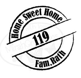 Familie naam Home Sweet Home