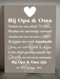 """Bij Opa & Oma voelen we ons altijd welkom (ook in """"ik"""" vorm)"""