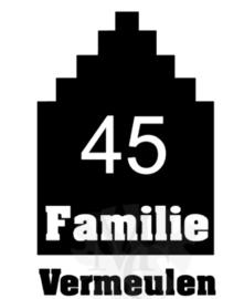 Grachtenpand familie naam en huisnummer