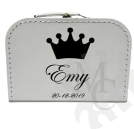 Geboorte koffertje : Kroon