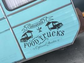 Maatwerk sticker foodtruck