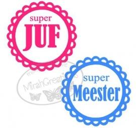 Super juf/meester
