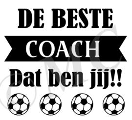 De beste coach dat ben jij