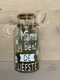Fles: Mama jij bent de liefste