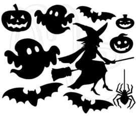 Sticker - Uitbreidingsset Halloween