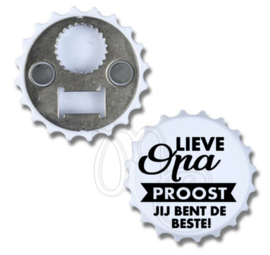 Opener - Lieve Papa / Opa proost je bent de beste!