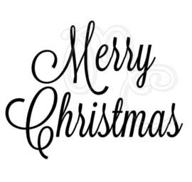 Sticker - Uitbreidingsset Merry christmas