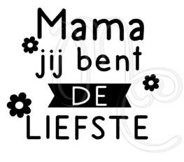 mama / oma jij bent de liefste