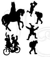 Sticker - Uitbreidingsset Sinterklaas