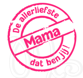 De allerliefste mama / oma dat ben jij
